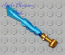 NEW Lego Ninjago LIGHTNING ELEMENTAL BLADE - Ninja Jay Minifig Blue Sword Weapon