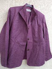 Orvis Herringbone Tweed NWOT Ladies Jacket Rose 100% wool  Size 8 Lined