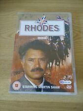 Rhodes Complete Series (DVD rare BBC MARTIN SHAW KEN STOTT - UK R2 - oop