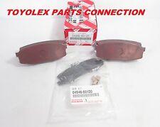 NEW GENUINE LEXUS LX570 TOYOTA LAND CRUISER REAR BRAKE PADS & SHIMS 04466-60120