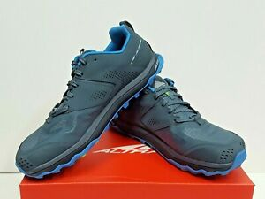 ALTRA LONE PEAK 5 Men's TRAIL Running Shoes Size 9.5 (Blue/Lime) USED