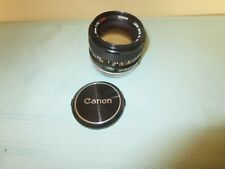 Canon FD 50mm f1.4 S.S.C. Film Camera Lens Made in Japan