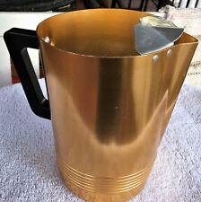 Vintage ~REGAL~ Aluminum Pitcher/Turned Edge Pour Spout/Drip Guard~Delightful