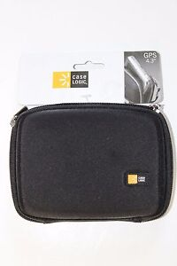 "Case Logic Black Protective Hard Case Fits 4.3"" Gps Units Model 63-2401165"