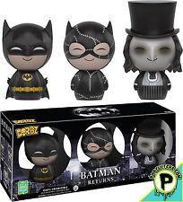 BATMAN Returns - Batman, Catwoman & Penguin Dorbz Vinyl Figures 3-Pack Exclusive