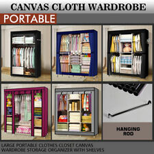Fabric Metal Armoires & Wardrobes