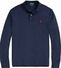 Ralph Lauren Men's Long Sleeve Polo Custom  Fit