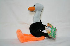 BEAN SPROUTS - ARIEL - pebble stuffed STORK(?) bird - Ages 3 + Gift Innovations