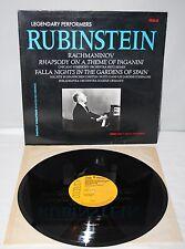 "12"" LP - Artur Rubinstein - Legendary Performers - RCA GL85205 - 1983"