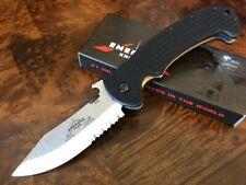 Emerson Knife Tiger SFS Stonewash Serrated Edge Made in USA Prestige Dealer