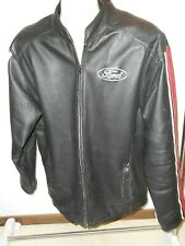 FORD OFFICIAL CHOKO LEATHER JACKET COAT Mens Size M