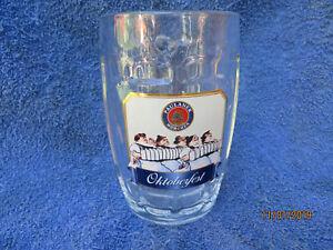 """0.5 Litre Heavy Glass""""Paulaner Munchen"""" Oktoberfest Germany Beer Stein..Like New"""