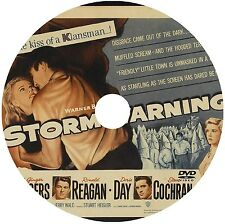 STORM WARNING (1951) GINGER ROGERS, R. REAGAN, DORIS DAY, FILM NOIR ON DVD