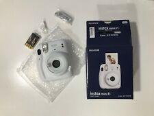 Fujifilm instax mini 11 Fotocamera Istantanea Analogica - Ice White