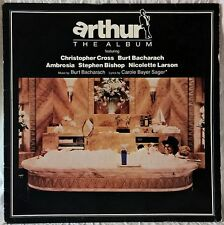 BURT BACHARACH ARTHUR ORIGINAL MOVIE SOUNDTRACK LP WARNER