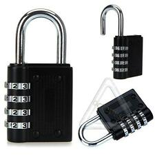 New 8cm Large 4 Dial Number Combination Padlock Lock Gym Lockers Sheds Toolboxes
