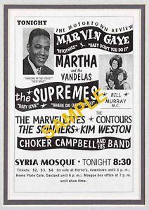 Motortown Review Repro Concert Poster Print - Northern Soul, Tamla Motown
