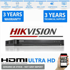 Hikvision Turbo HD DVR 4/8/16CH 4MP 1080P 4K 4in1 HDTVI/dispositifs antimanipula...