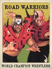 Custom made Road Warriors wrestling card LJACards