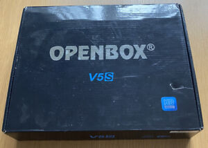 OPENBOX V5s Digital Satellite Receiver In Excellent Condition.  Never Been Used.