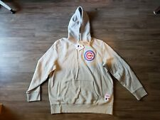 NWT Levi's Chicago Cubs MLB Baseball Sweatshirt Hoodie Pullover Grey Sz XL