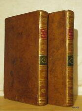NOEL LAPLACE Leçons Latines de Littérature et de Morale 1808 2 VOLS