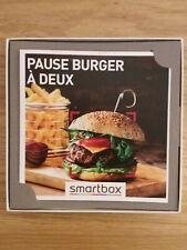Smartbox - Pause burger à deux - Neuve