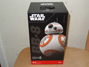 Sphero BB-8 Droid Star Wars The Force Awakens App-Enabled Robot Toy - Brand New