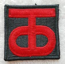 US ARMY PATCH 90th Infantry Division Colour Class A Uniform Badge United States