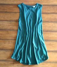 FOREVER 21 TWENTYONE ~ New! Medium ~ Emerald CUT-OUT TWIST BACK T-Shirt Dress