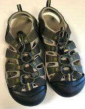 Keen 1008399: Men's Newport H2 Raven/Aluminum Sandals size 15