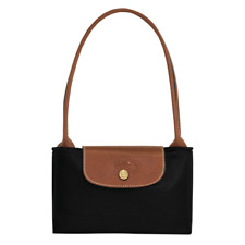 Longchamp Folding Shoulder Tote Bag - Navy Blue