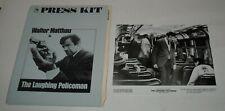 1973 The LAUGHING POLICEMAN PROMO MOVIE PRESS KIT 10 PHOTOS WALTER MATTHAU CRIME