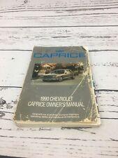Repair Manuals & Literature for 1990 Chevrolet Caprice for