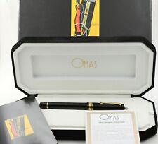 Vintage Omas Paragon Arte Italiana Patronenfüller cartridge fountain pen