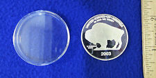 2003 Indian Head Buffalo Nickle HA1181 Collectors Proof Coin Plastic Case