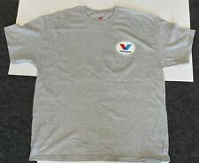 VALVOLINE VINTAGE T-SHIRT XL; gray, BRAND NEW, never worn **