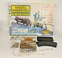 Boxed Aurora HO Model Motoring Racing Set #1503 No Cars Untested Read Descriptio