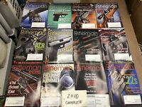 American Rifleman NRA Magazine 2010 Lot 12 Issues Complete Year Ex+ Jan-Dec