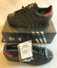 Adidas Superstar Star Wars Darth Vader Empire Dark Side Size 9 UK BNIBWT FX9302