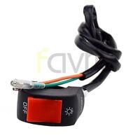 "7/8"" Light On Off Switch For 49CC 50CC 70CC 90CC 110CC 125 ATV DIRT PIT BIKE"