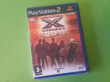 La X-Factor cantare SONY PLAYSTATION 2 GIOCO PS2-Black Bean Games * NUOVO E SIGILLATO *