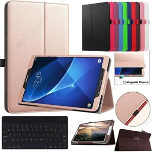 """For Samsung Galaxy Tab E/A/A6/S3/S2/S4 7""""~10.5"""" Tablet Folio Leather Case Cover"""