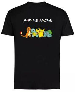 Pokemon  Pikachu  Friends T-Shirt Different  size S M L XL