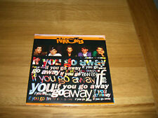 """New kids on the block-if you go away.7"""" poster sleeve"""