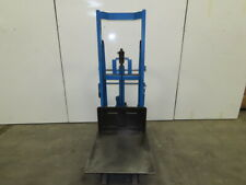 Big Joe 21p54 1000lbs 26 X 26 Platform Hydraulic Lift Mobile Die Cart 10 54
