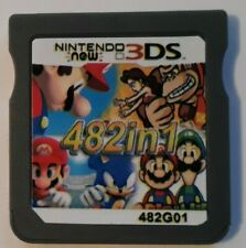 482 In 1 Video Game Card Console Multi For Nintendo NDS NDSL 2DS 3DS NDSI - USA