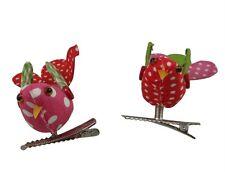 Gisela Graham Patchwork Birds on Clip - Sweet Girls bedroom or Easter decoration