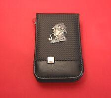 Sherlock Holmes Black Faux Carbon Fibre Manicure Set Book Club English Teacher