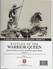 GMT GAMES - BATTLES OF THE WARRIOR QUEEN    CAESAR: CONQUEST OF GAUL MODULE